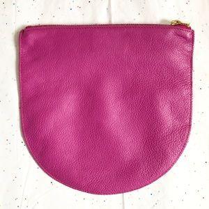 BAGGU Large Leather U Pouch